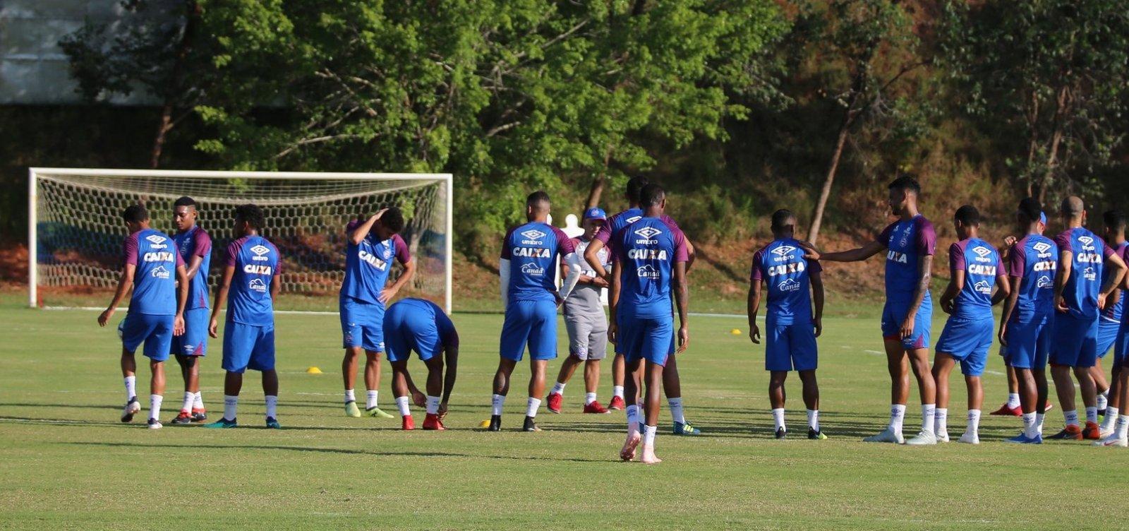 Bahia finaliza preparação para enfrentar o Vasco