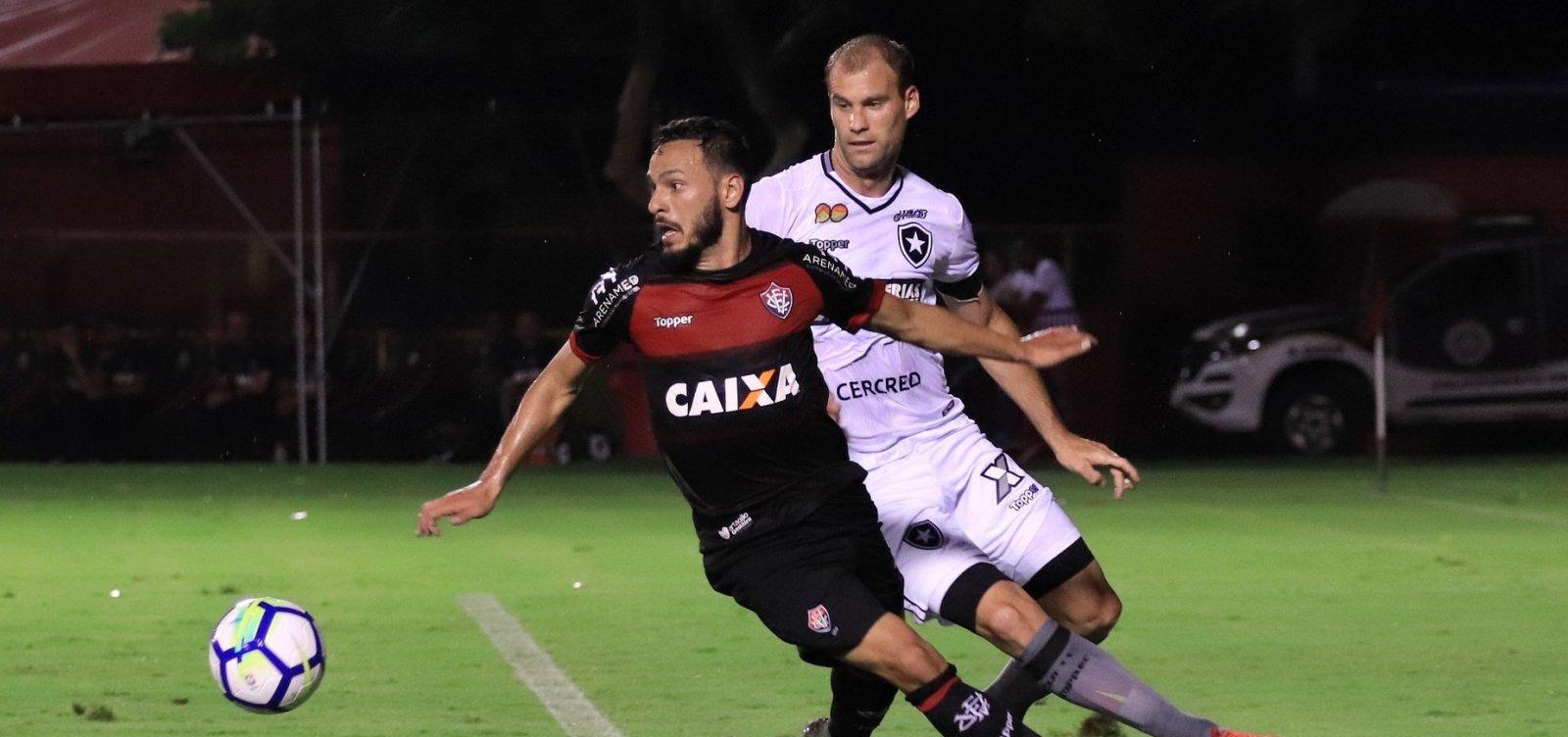 Vitória perde por 4 a 3 para o Botafogo no Barradão