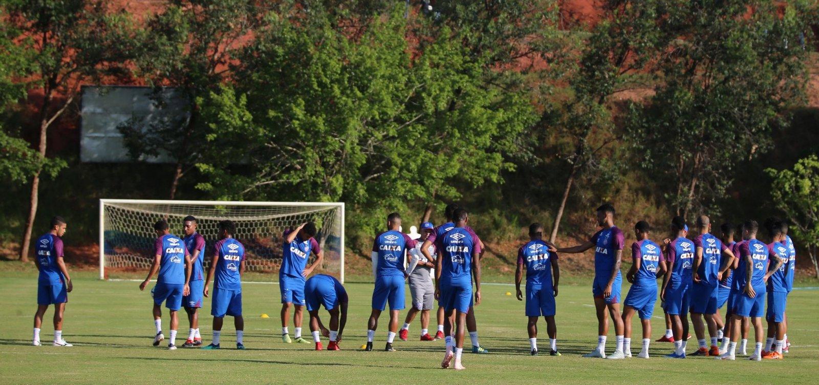 Com retorno de Elber e Gilberto, Bahia busca triunfo em partida contra o Vasco