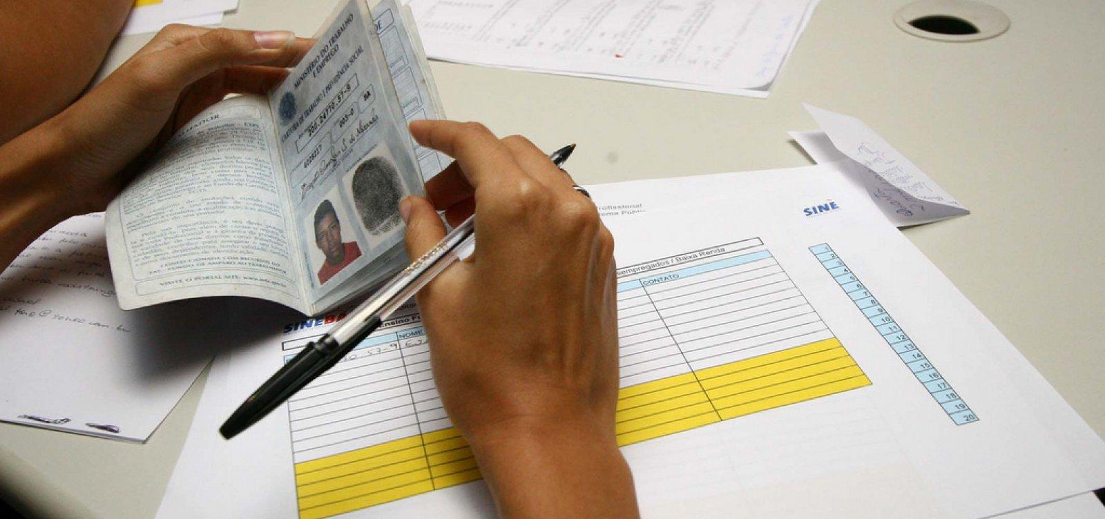 Bahia tem alta na geração de empregos em agosto