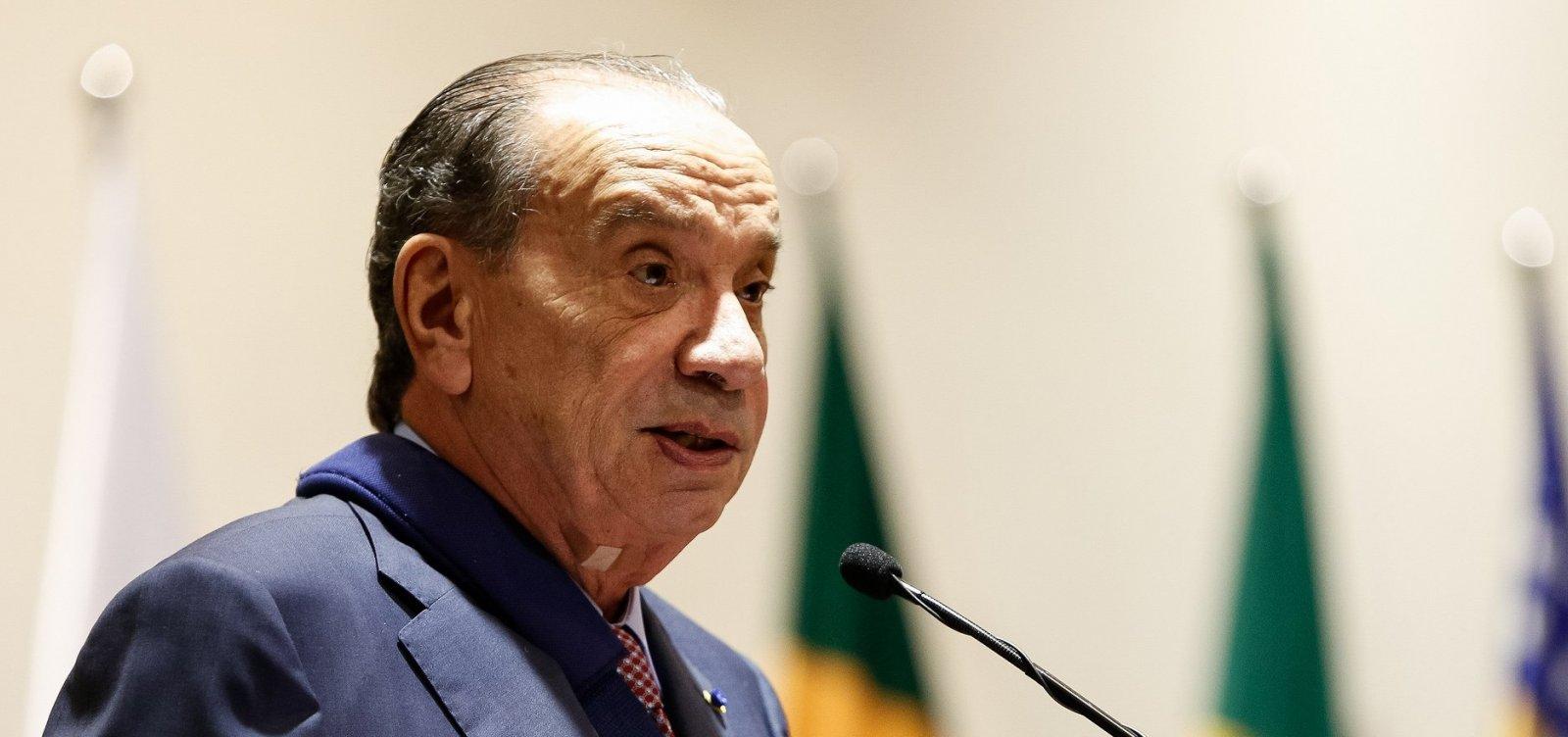 Aloysio Nunestrocou carta com Dirceu na cadeia
