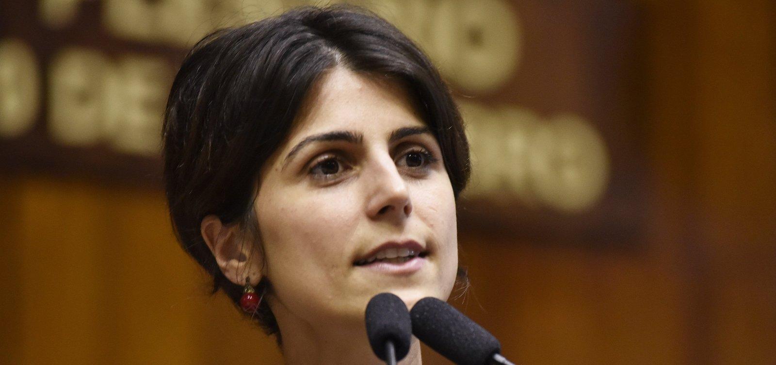 Manuela D'Ávila pede proteção da PF após ameaças