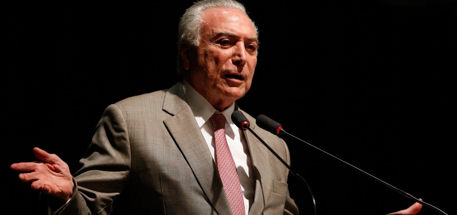 Temer diz que tentará aprovar reforma da Previdência após eleições