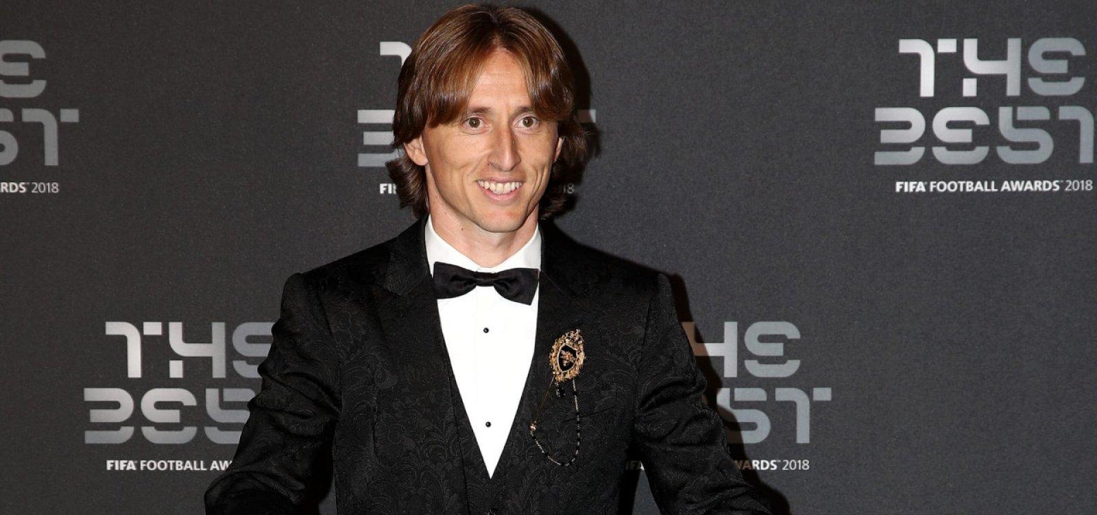 Modric é eleito melhor jogador do mundo pela Fifa