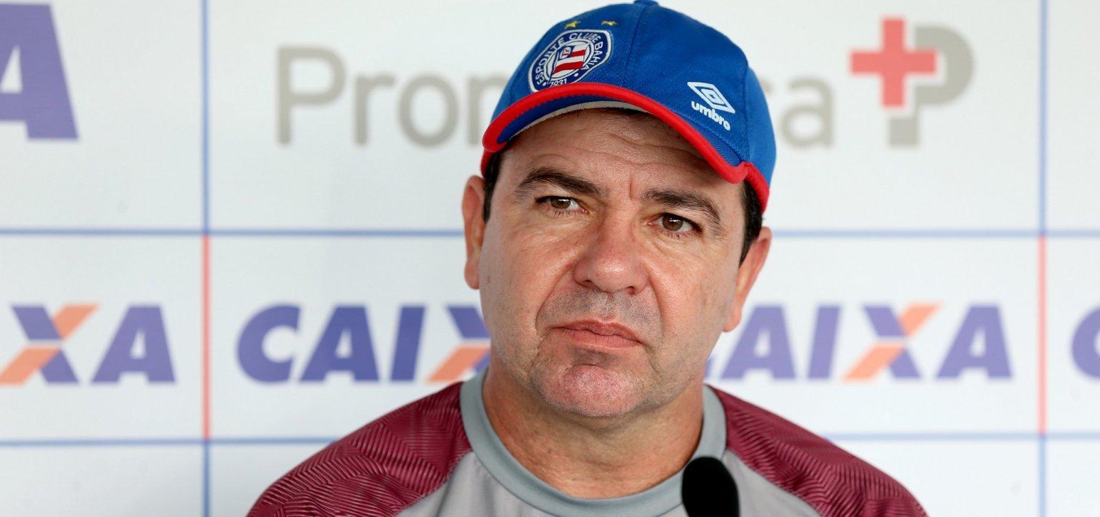 Enderson fala em 'alternativas' para superar desgaste de elenco do Bahia