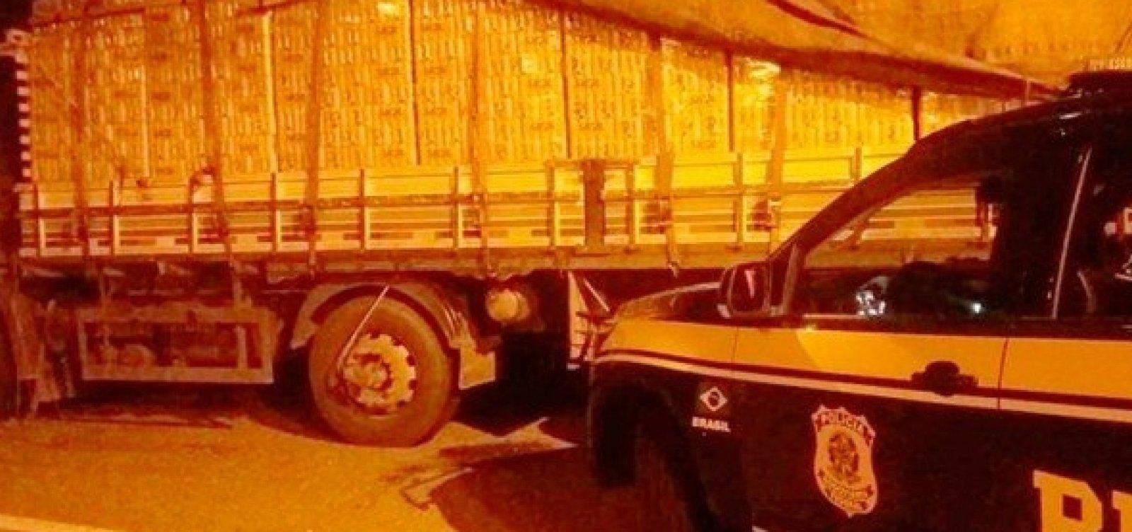 Dois homens são presos com 13 mil litros de cerveja e 400 kg de carne no interior da Bahia