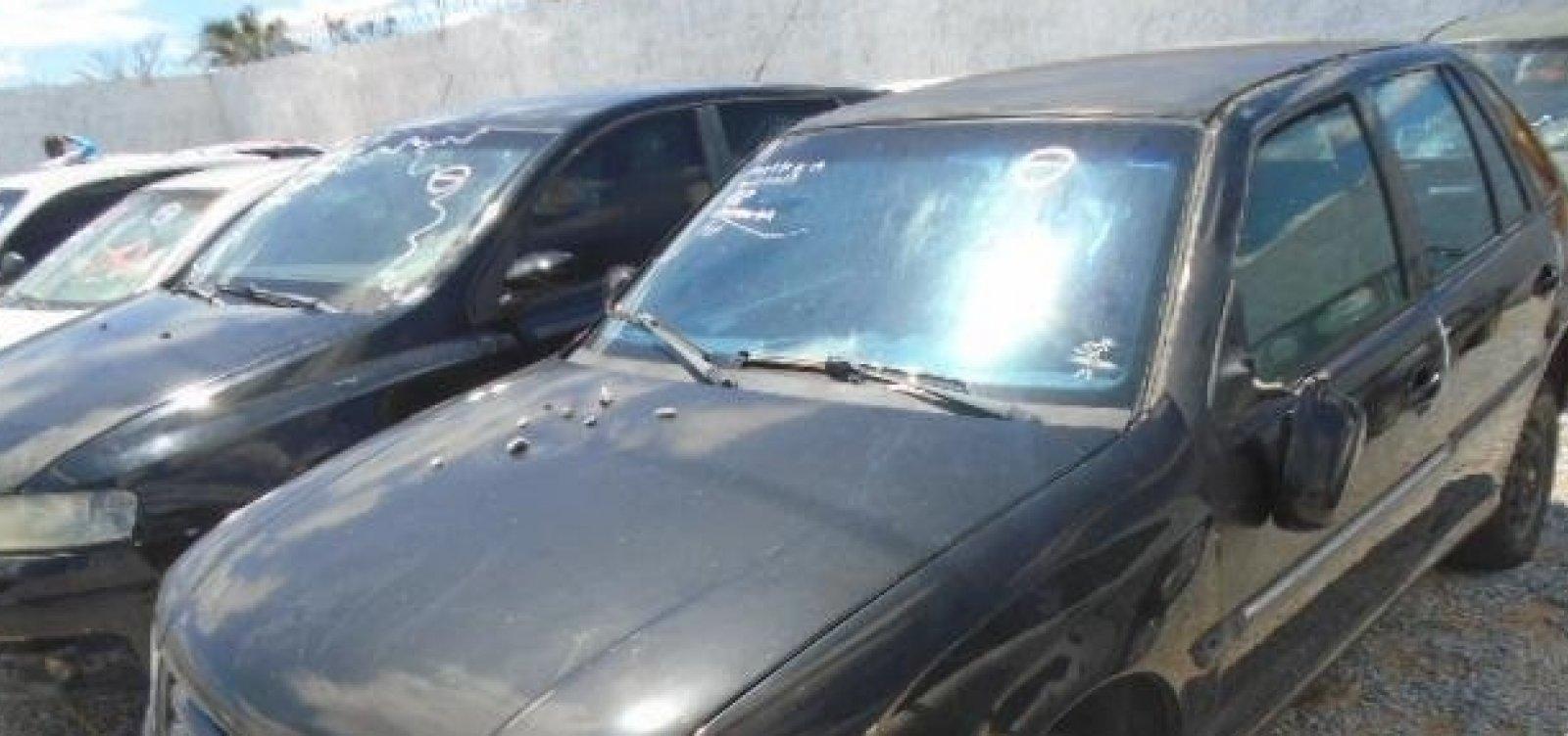 Detran leiloa mais de mil veículos apreendidos no interior da Bahia