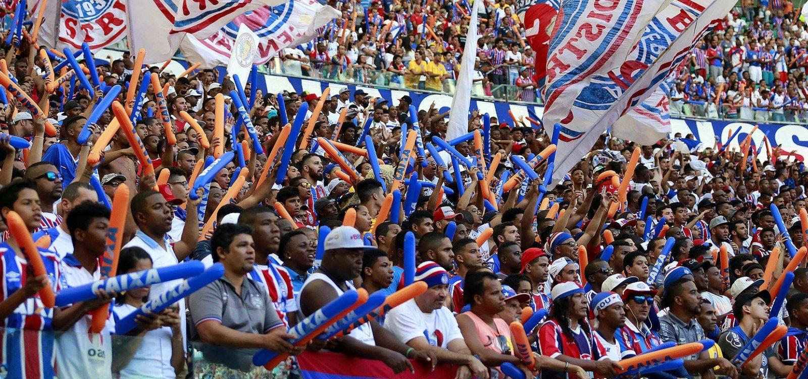 Bahia inicia venda de ingressos para partida contra o Flamengo