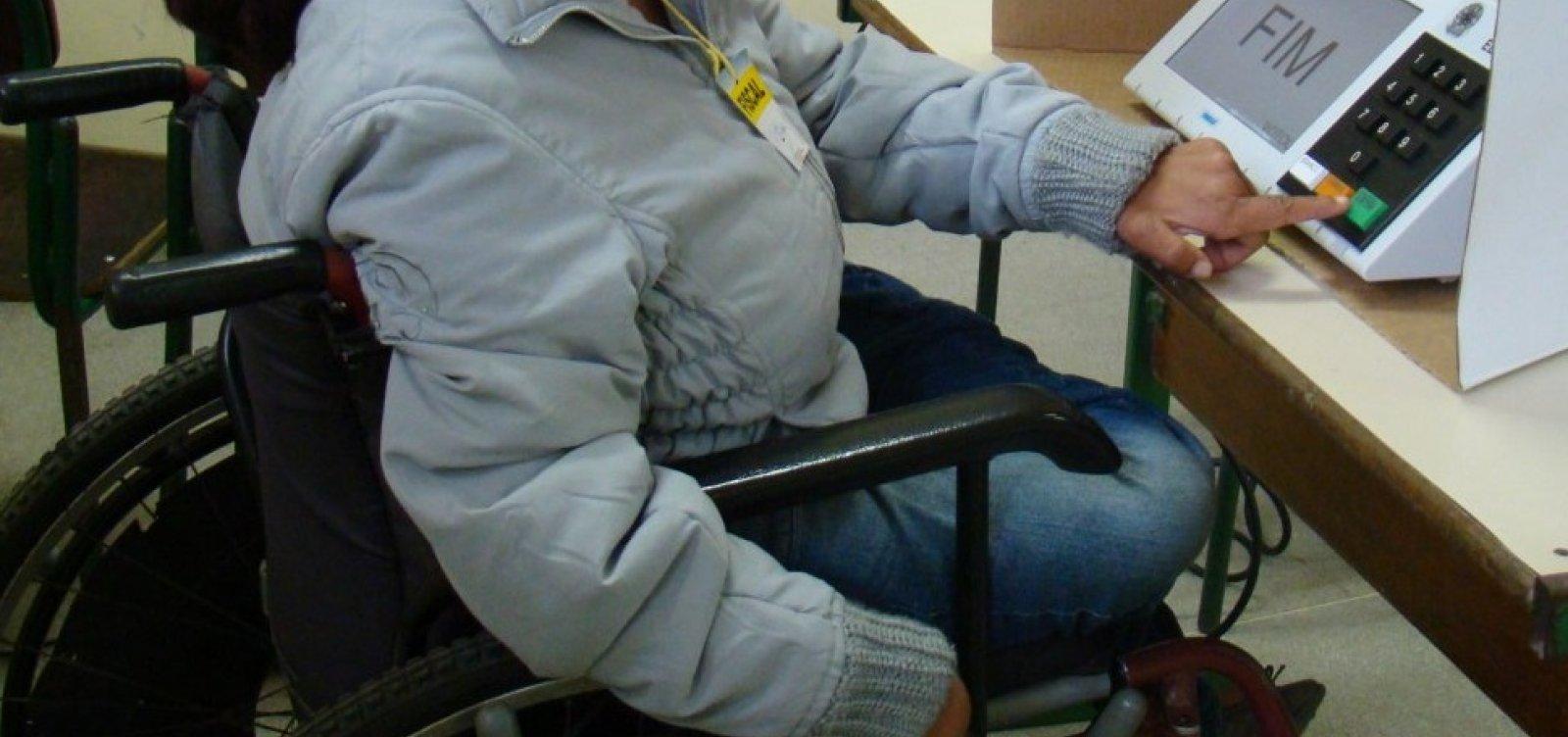 Número de eleitores com deficiência na Bahia é três vezes maior em 2018