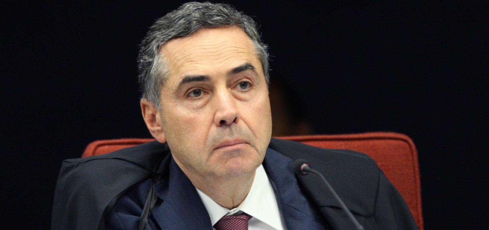 Barroso recua após 'tom ácido' ao falar de corrupção no STF