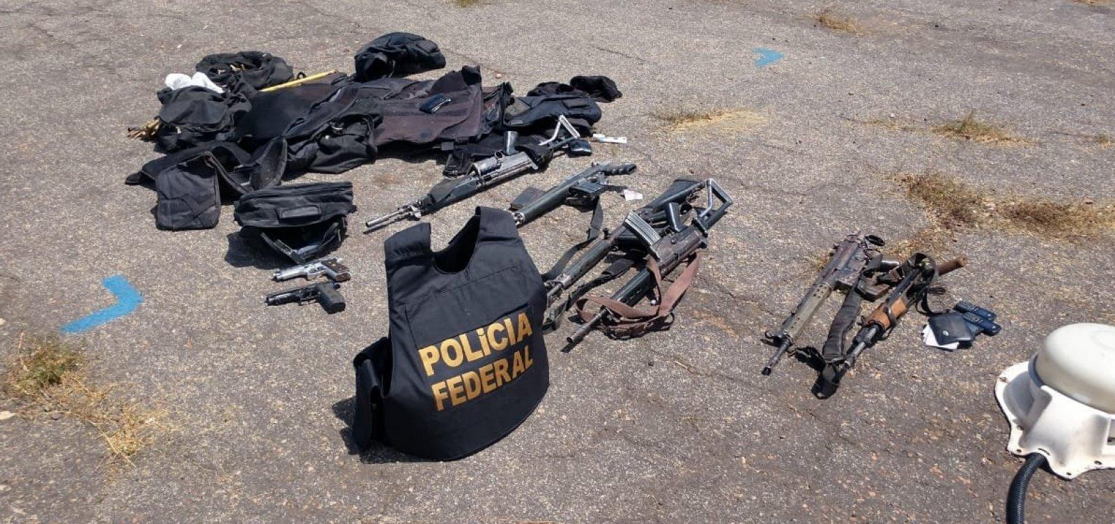 Seis suspeitos são mortos em tentativa de roubo a avião que transportava dinheiro