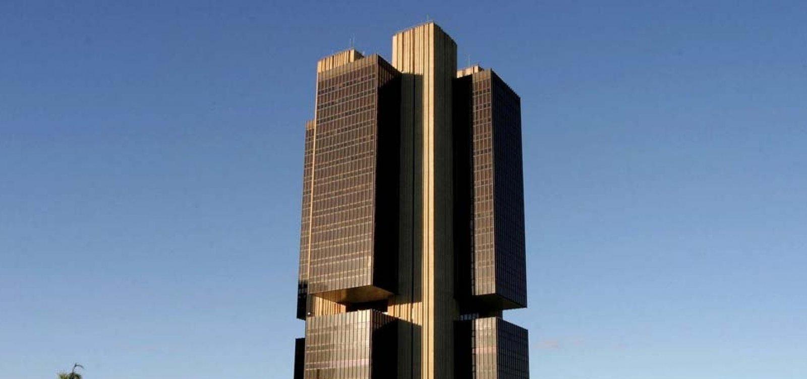 BC reduz previsão de crescimento do PIB de 2018 para 1,4%
