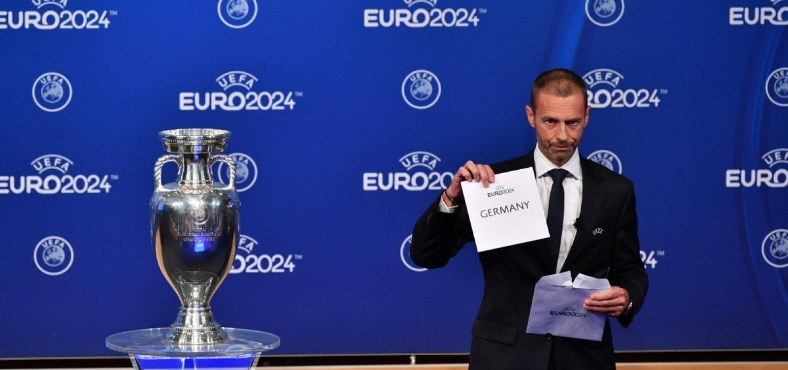 Alemanha é escolhida como sede da Eurocopa 2024