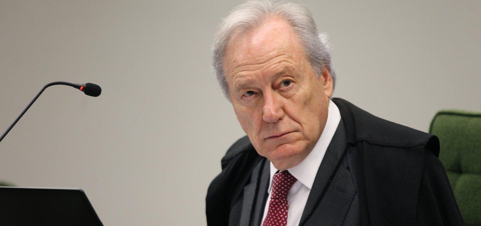 Lewandowski libera habeas corpus de Lula para julgamento no STF