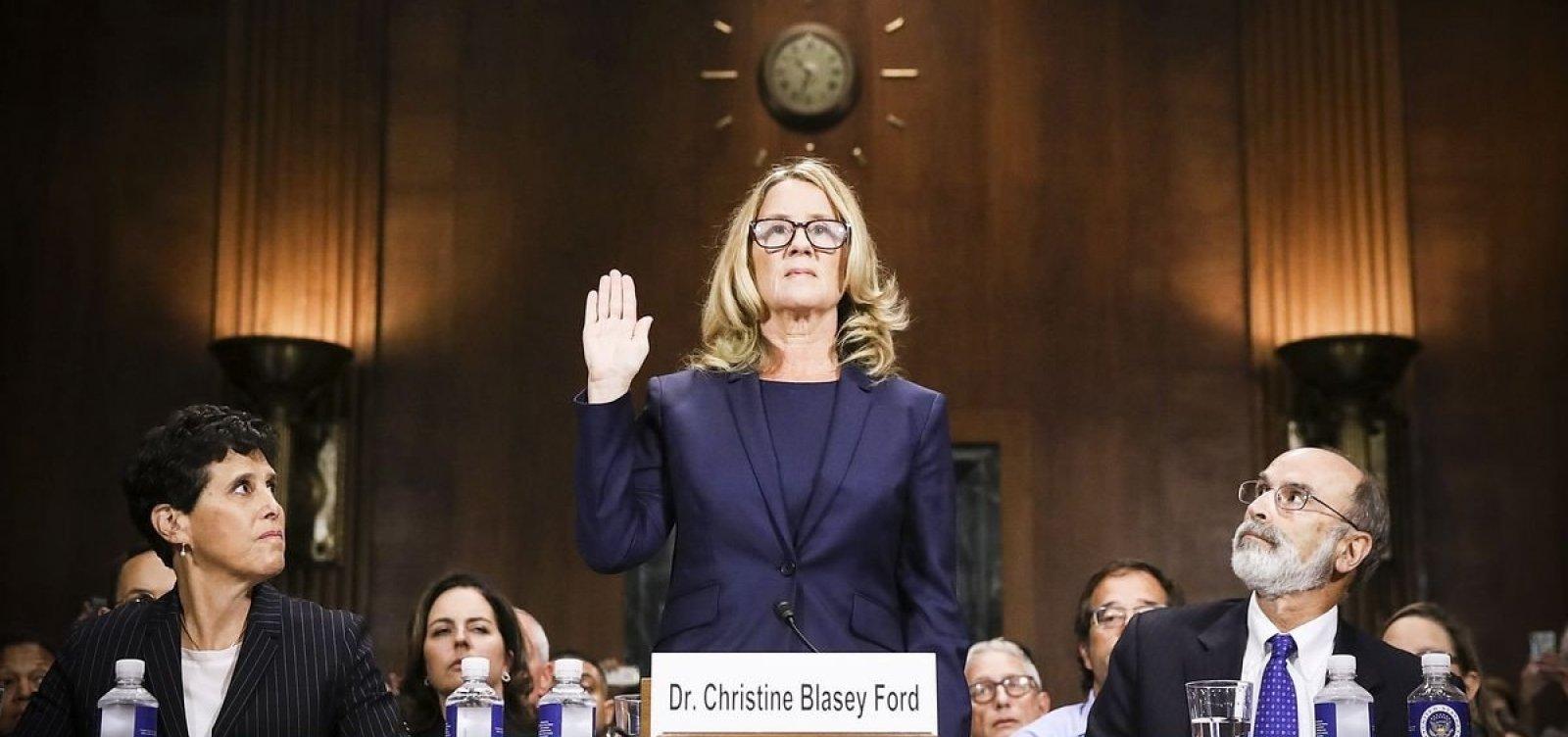 Professora relata no Senado dos EUA assédio de indicado à Suprema Corte; juiz nega