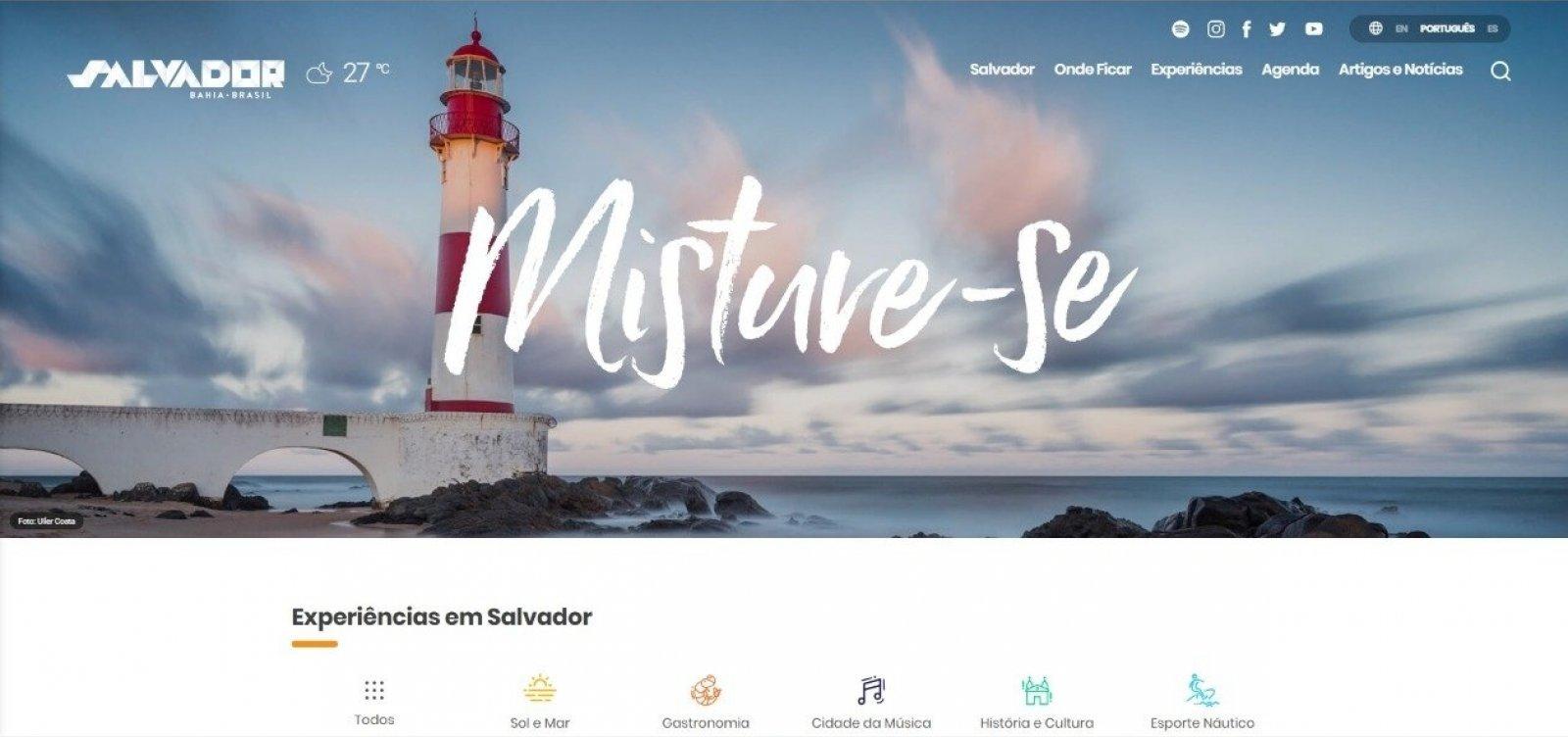 Prefeitura de Salvador lança site com mais de 200 dicas turísticas