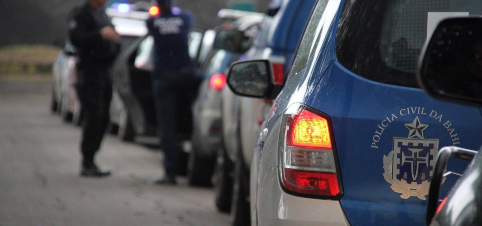 Ação nacional da Polícia Civil prende 69 suspeitos na Bahia