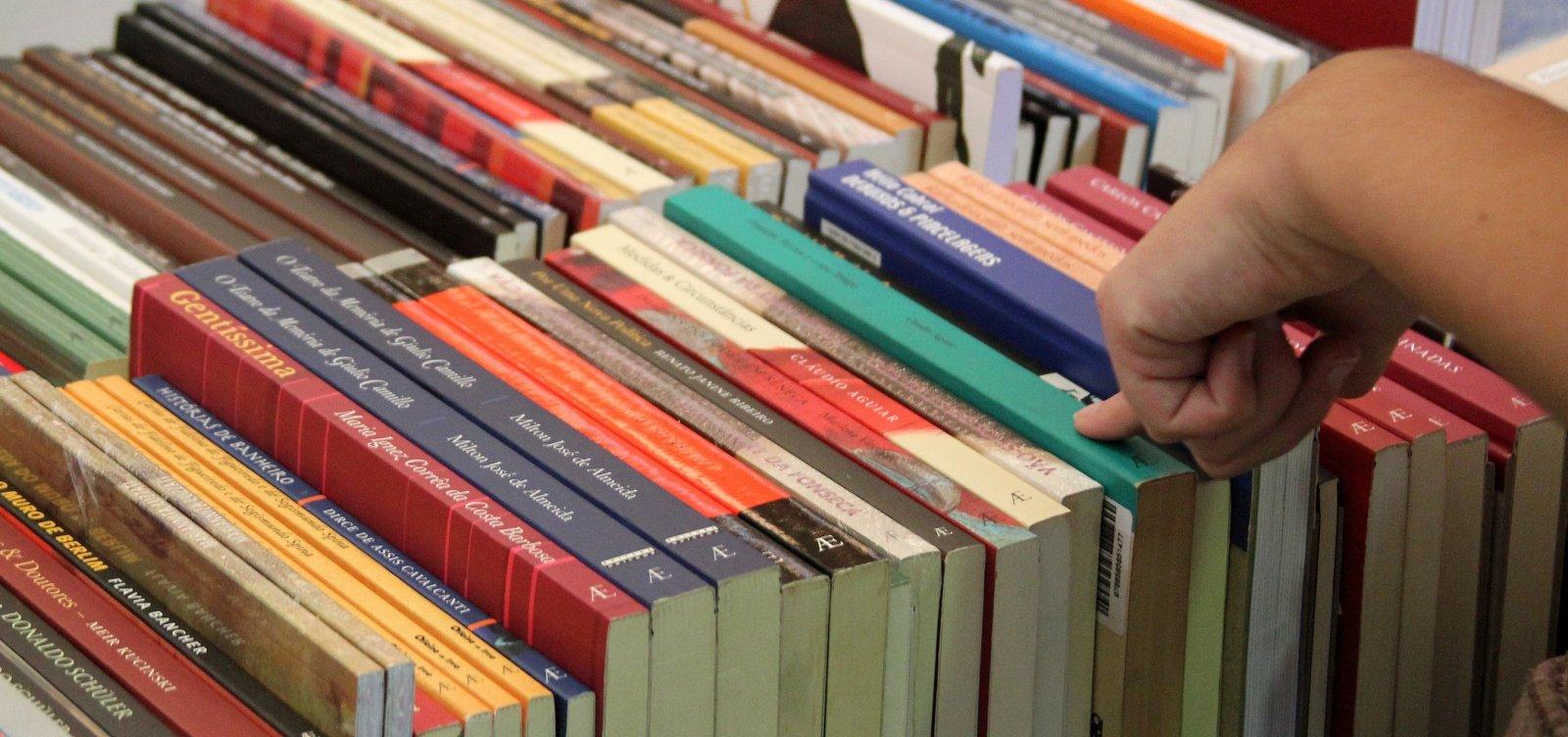 Estudantes da rede pública passam a receber obras literárias em 2019