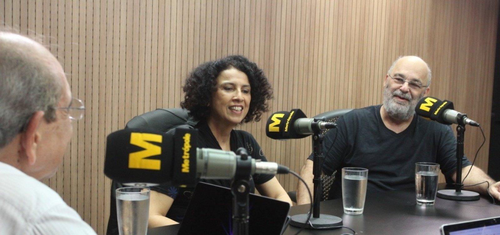 Paula e Jaques Morelenbaum relembram Jobim em show