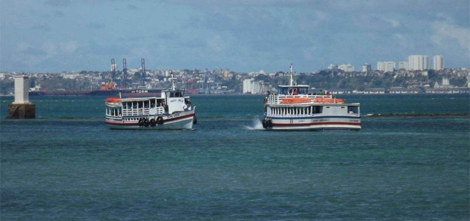 Travessia Salvador-Mar Grande opera sem filas