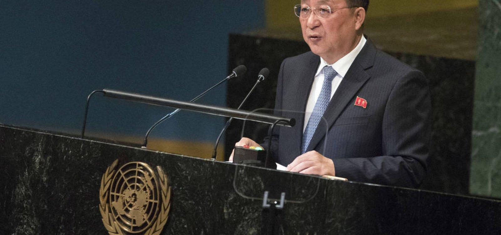 Coreia do Norte diz que sanções inviabilizam desarmamento nuclear