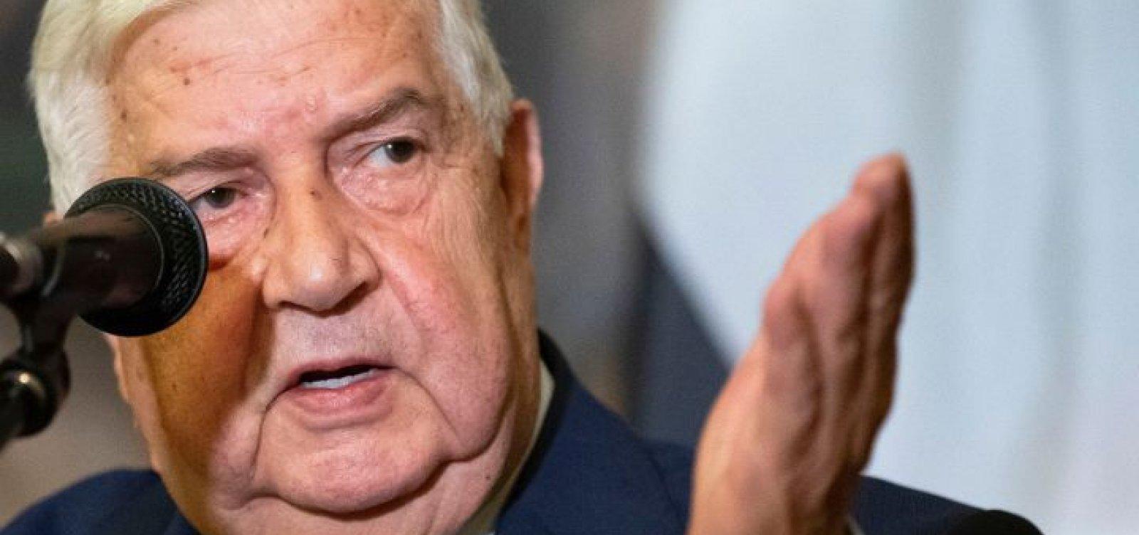 Na ONU, chefe da diplomacia síria diz que 'batalha contra o terrorismo está quase terminada'
