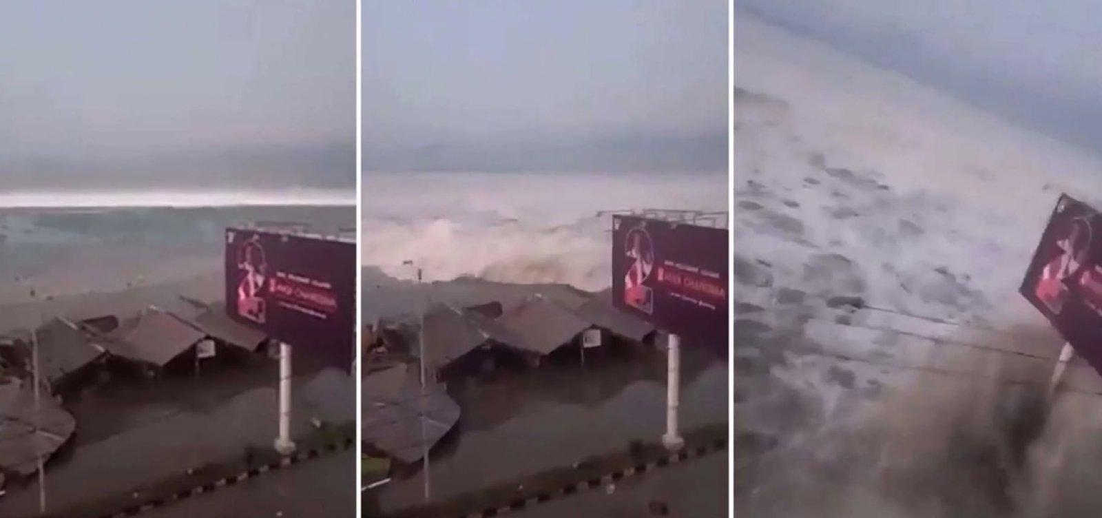 Terremotos e tsunami já mataram 832 pessoas na Indonésia