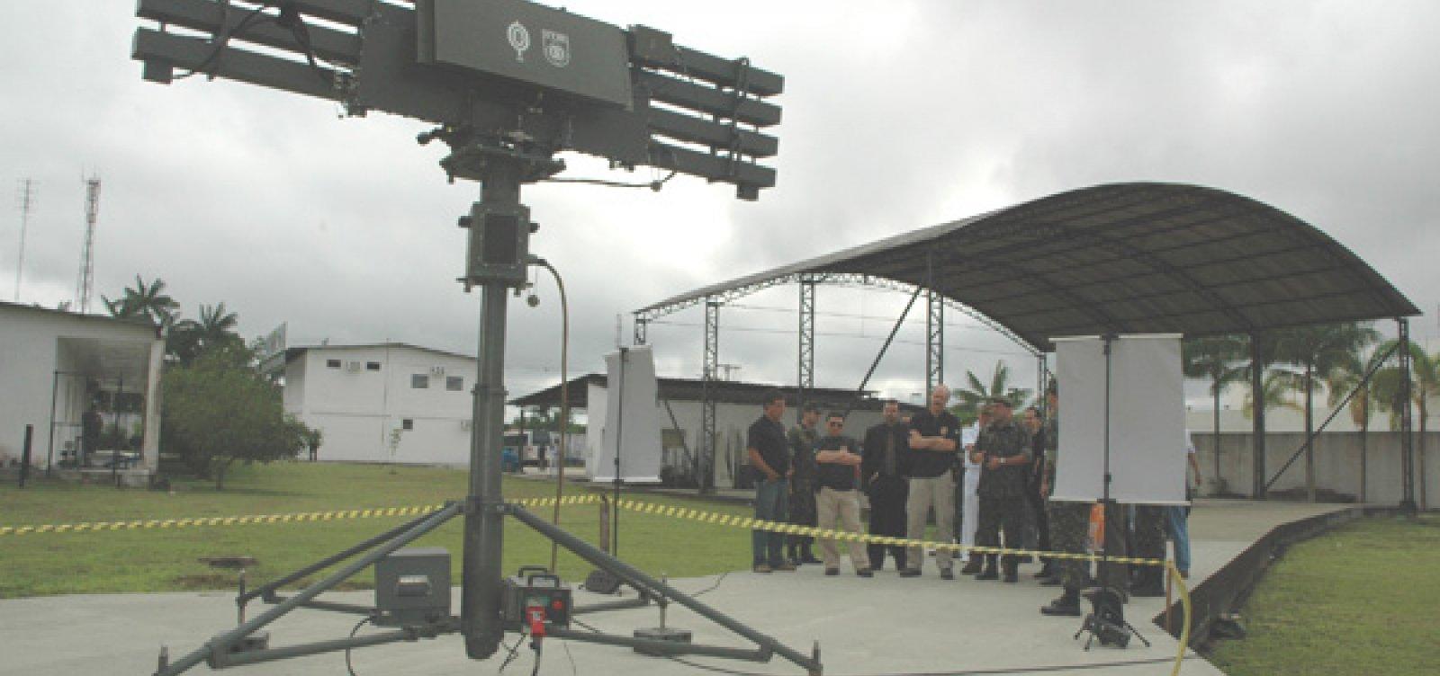 Governo vai destinar mais de R$ 100 mi para combater tráfico com radares