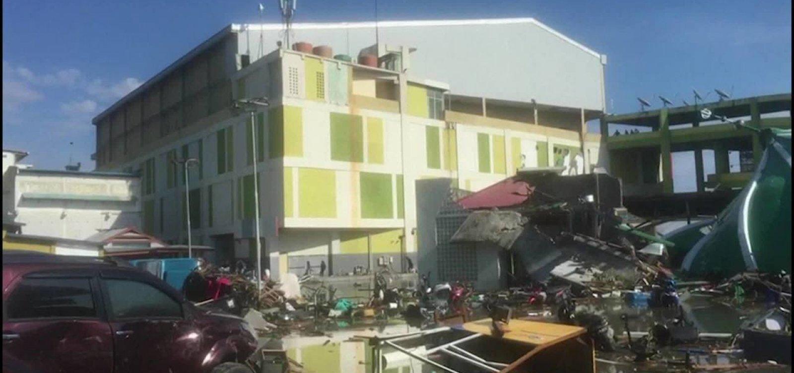Tufão Trami: número de feridos chega a 75 e paralisa transportes no Japão