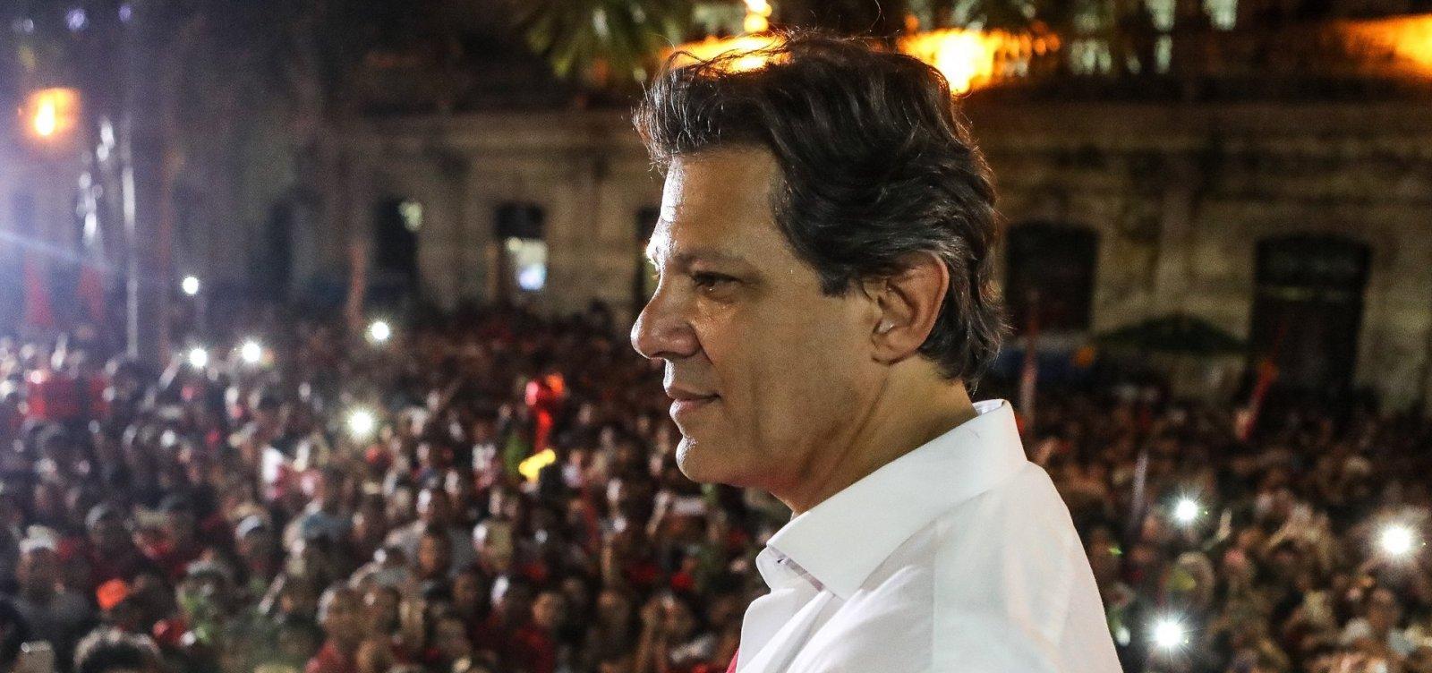Haddad vai intensificar visitas ao interior de São Paulo para melhorar desempenho