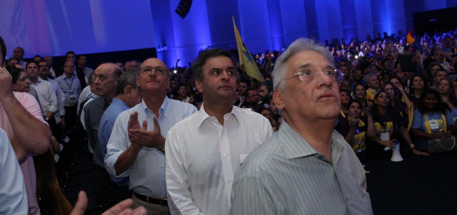 PSDB deve ficar neutro se o 2º turno for entre Haddad e Bolsonaro
