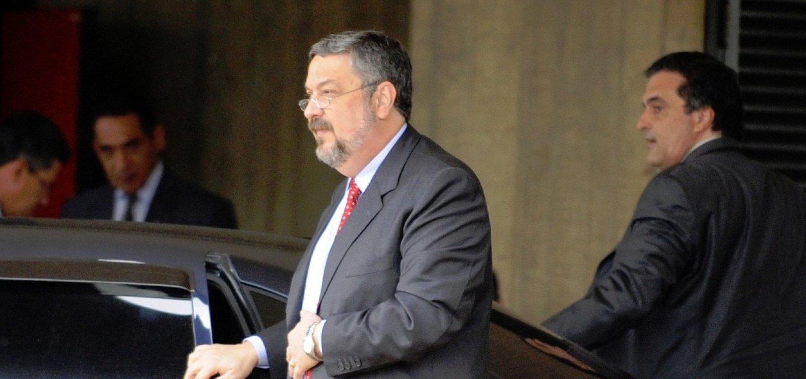 Palocci diz que houve propina em 90% das medidas aprovadas pelo governo