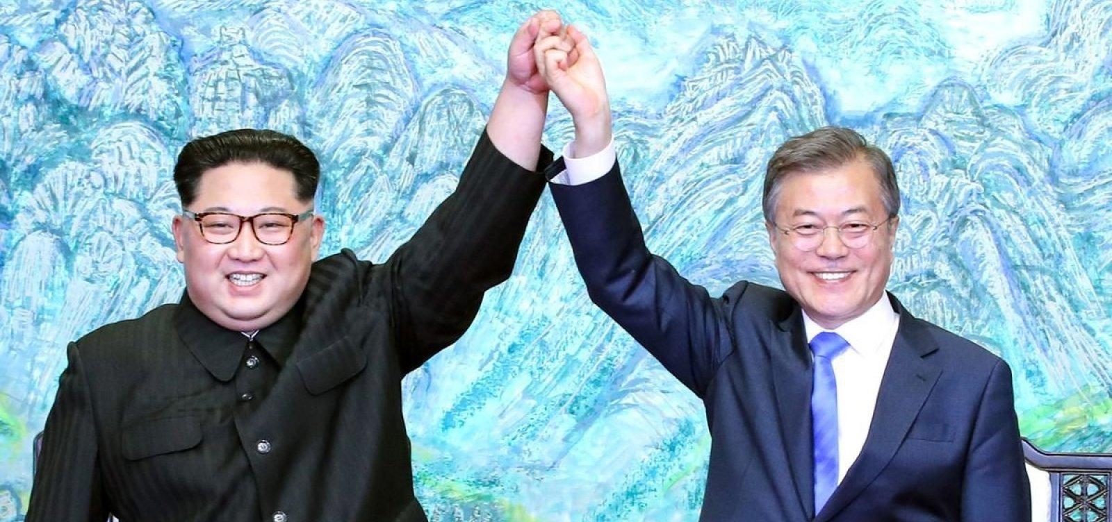 Coreias do Sul e do Norte começam a remover minas terrestres de fronteira