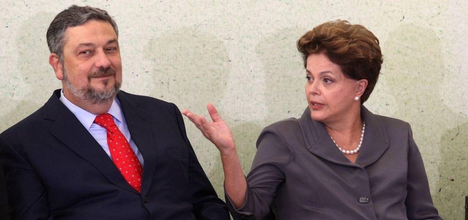 Palocci diz que campanhas de Dilma custaram o dobro do declarado ao TSE