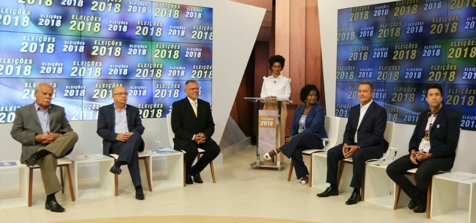 Agenda: candidatos se enfrentam hoje em debate na TV