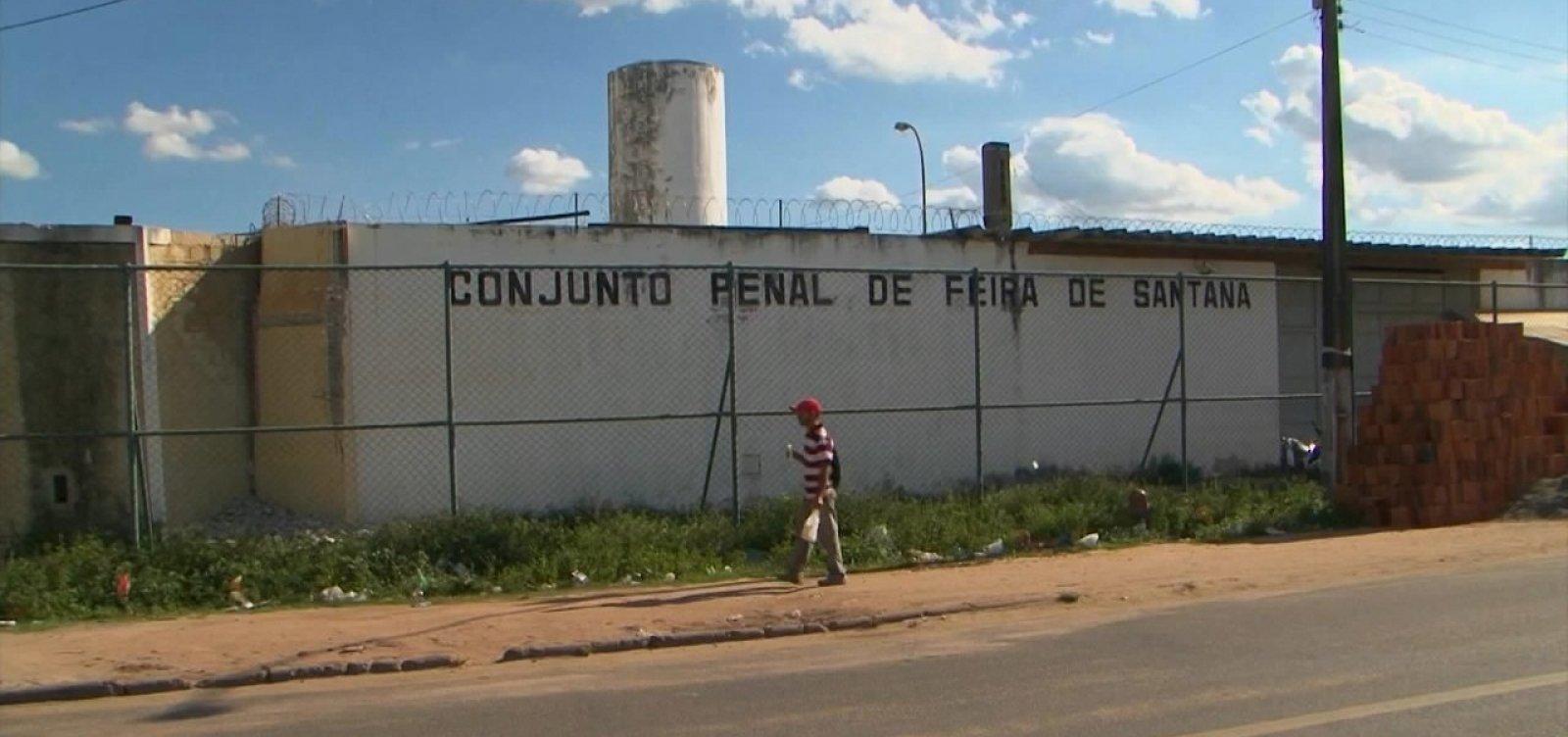 Feira de Santana: cerca de 100 presos já foram para o regime domiciliar