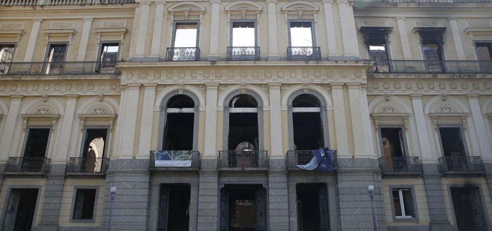 Diretor do Museu Nacional cobra celeridade em obras emergenciais