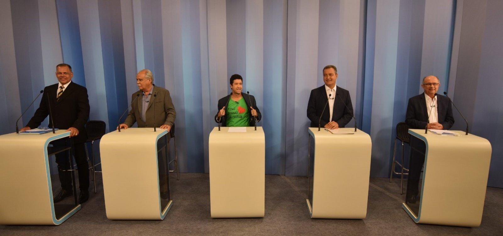 Debate na TV Bahia: 1° bloco é marcado por propaganda de presidenciáveis