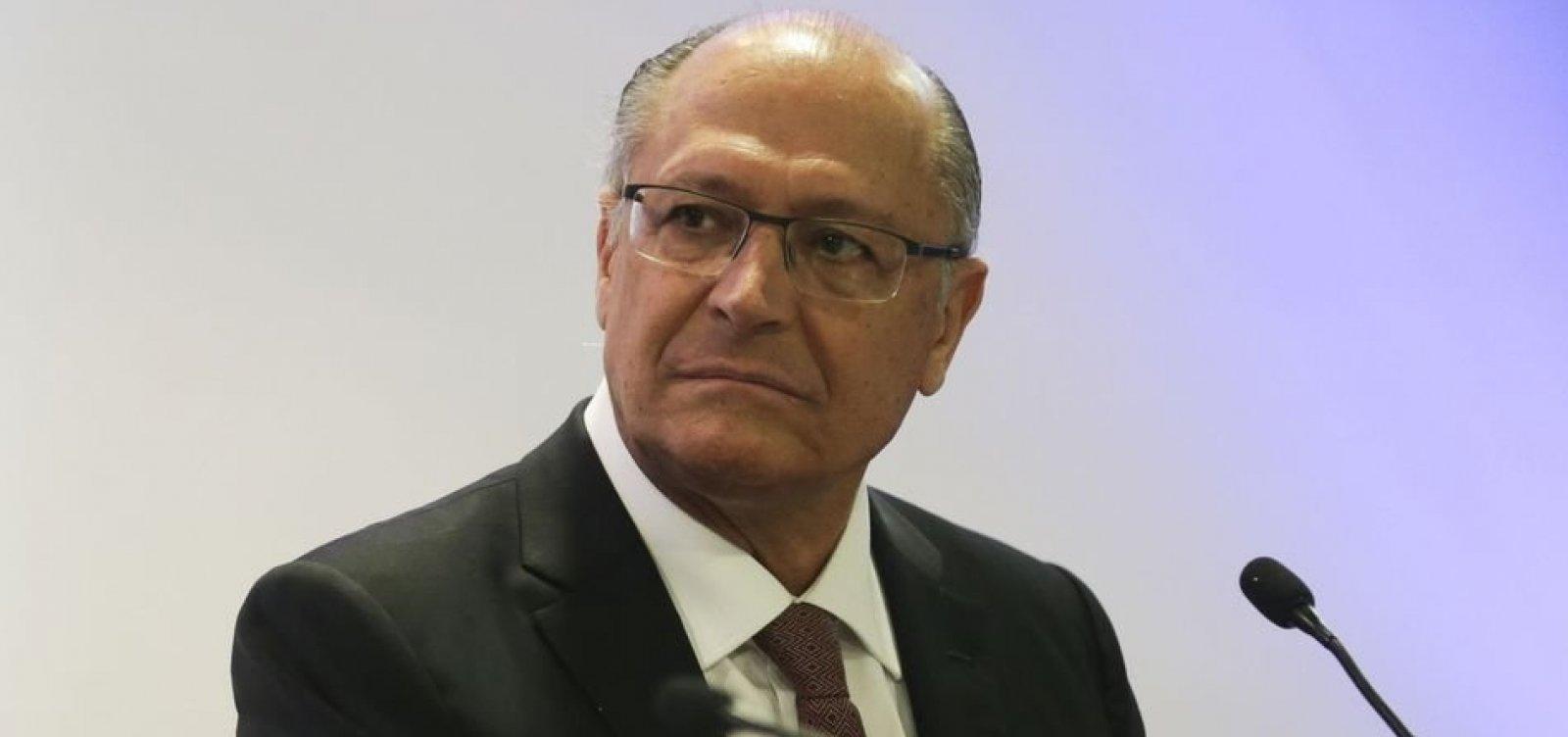 A poucos dias do 1º turno, aliados de Alckmin expressam apoio a Bolsonaro