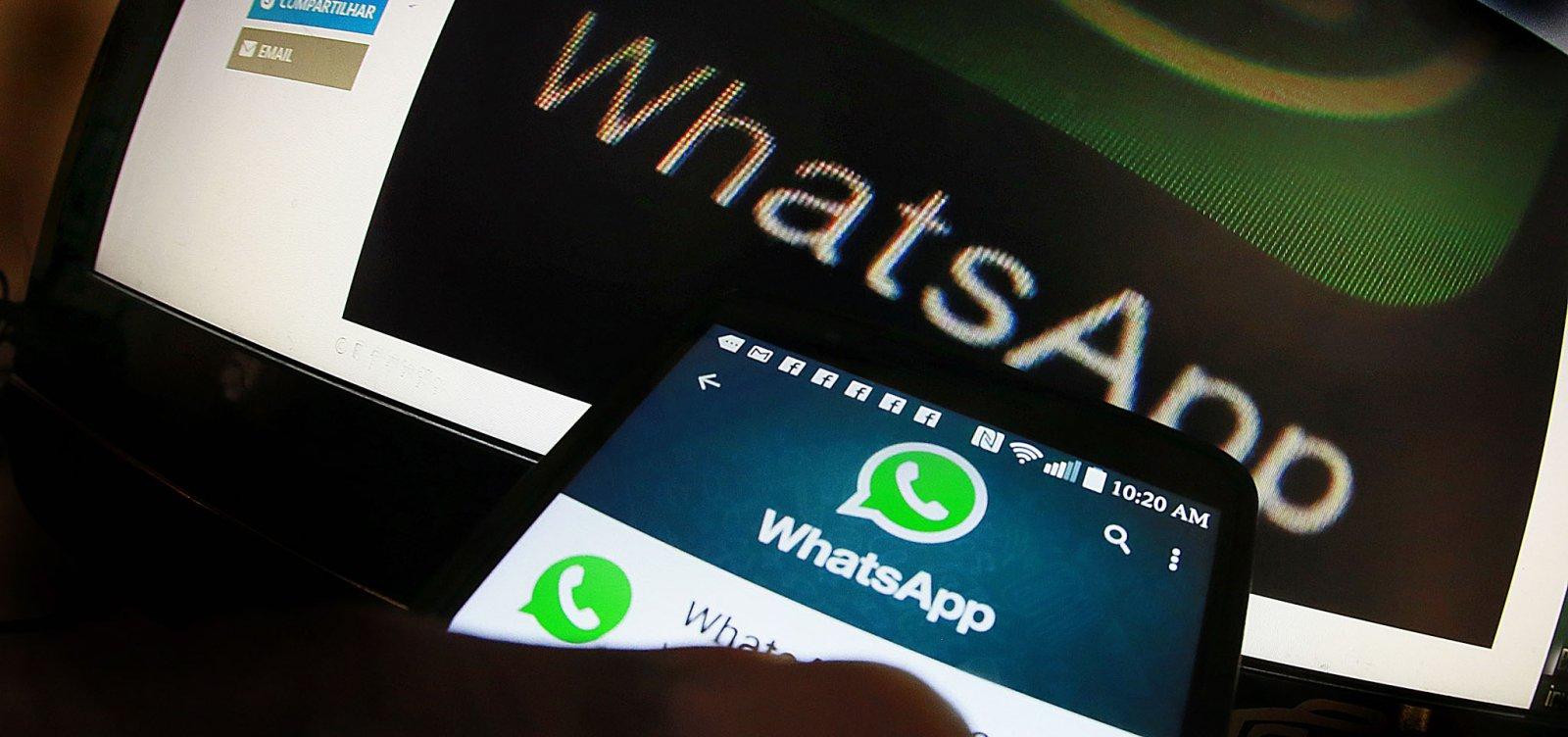 Datafolha: maioria dos eleitores se informa pelo WhatsApp