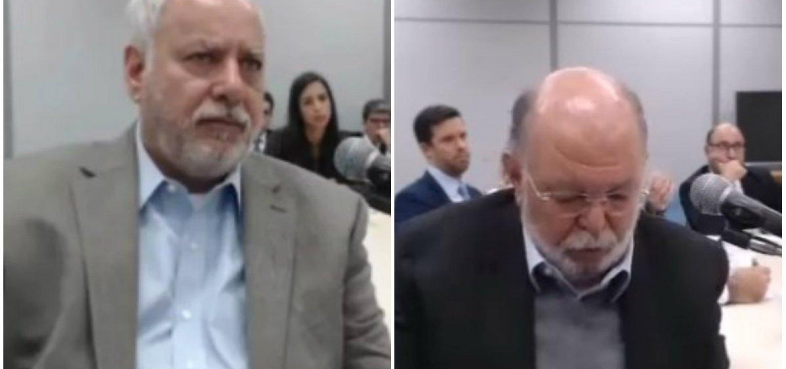 Ex-presidente da OAS e delator comemoram aniversário na prisão