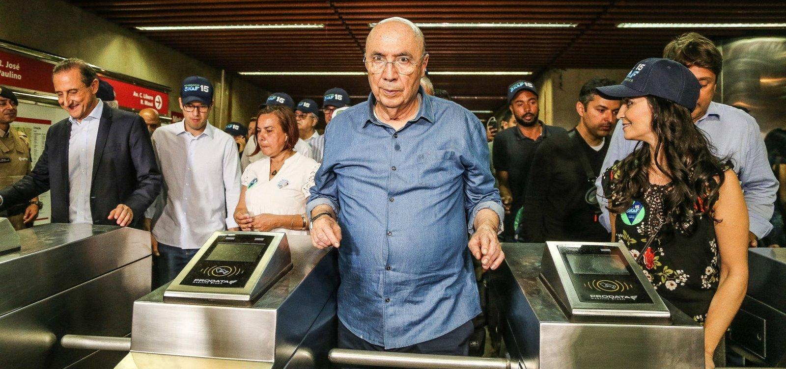 Sem voto, Henrique Meirelles investe em seu legado econômico