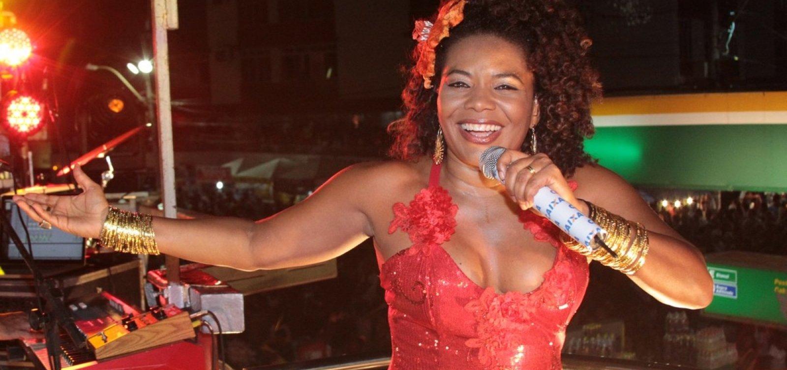 Margareth Menezes volta ao comando do bloco Os Mascarados após 10 anos afastada