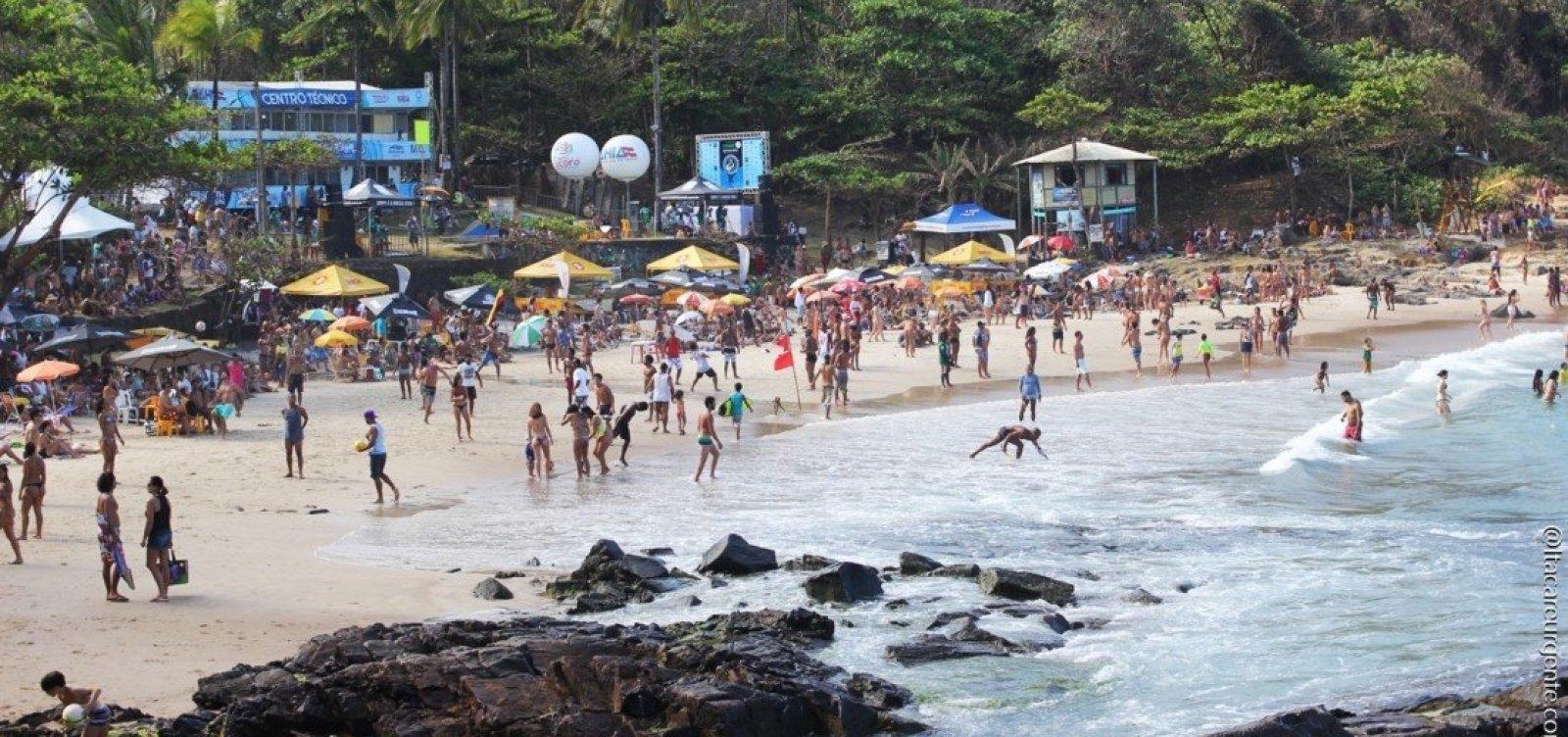Mundial de Surf será realizado este mês em Itacaré