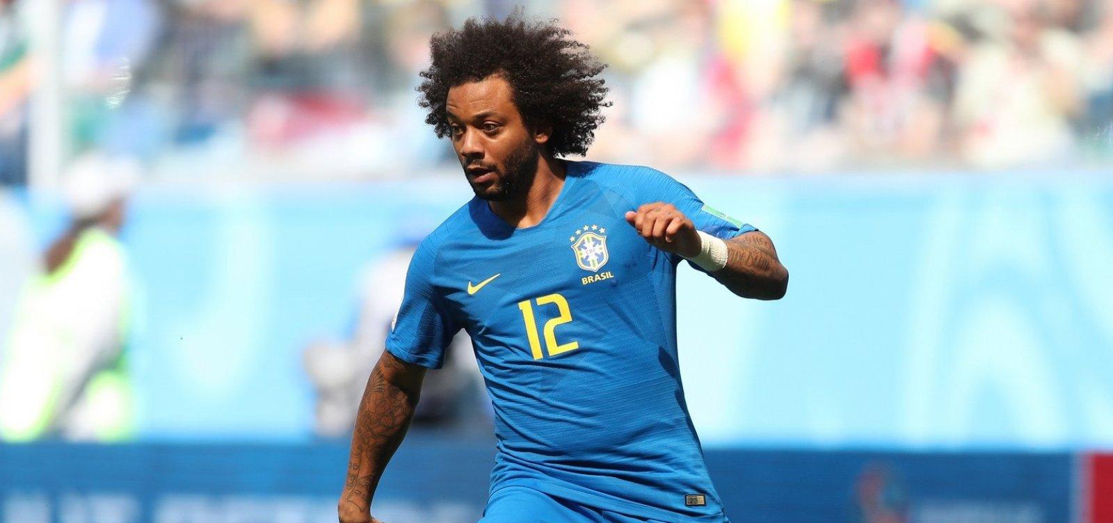 Lesão faz Marcelo ser cortado da Seleção Brasileira