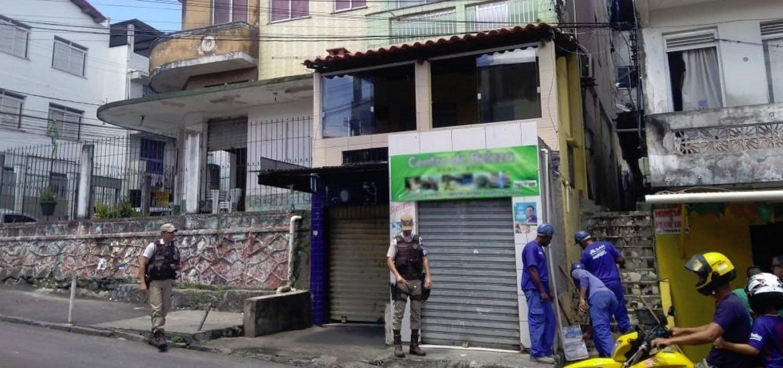 Operação da Embasa encontra pontos de fornecimento ilegal de água em São Caetano