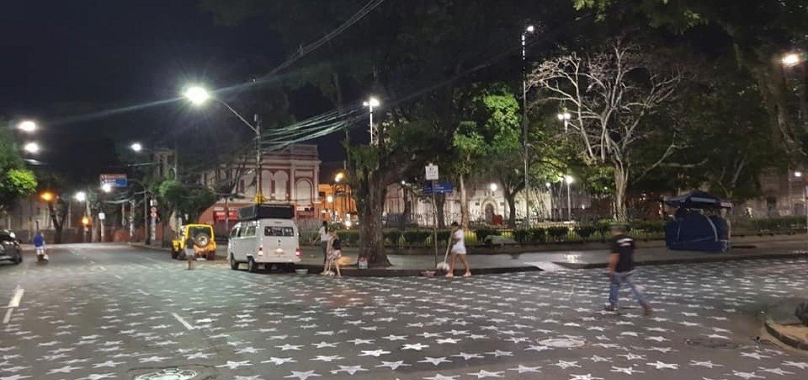 Prefeitura vai acionar PT por 'sujar' a cidade com marca e número do partido