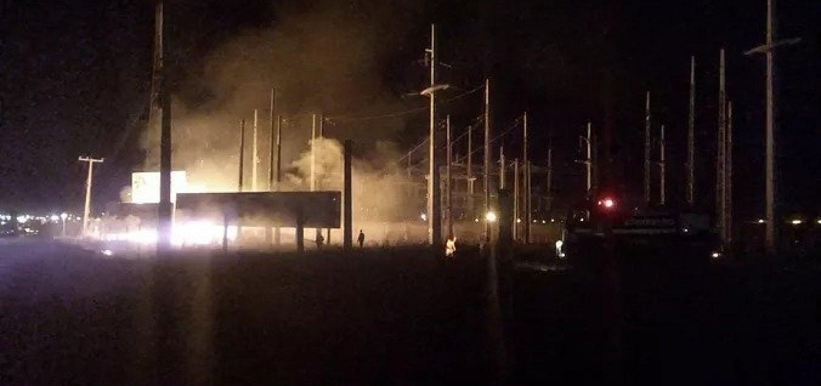 Queimadas perto da rede elétrica deixam moradores do oeste baiano sem luz