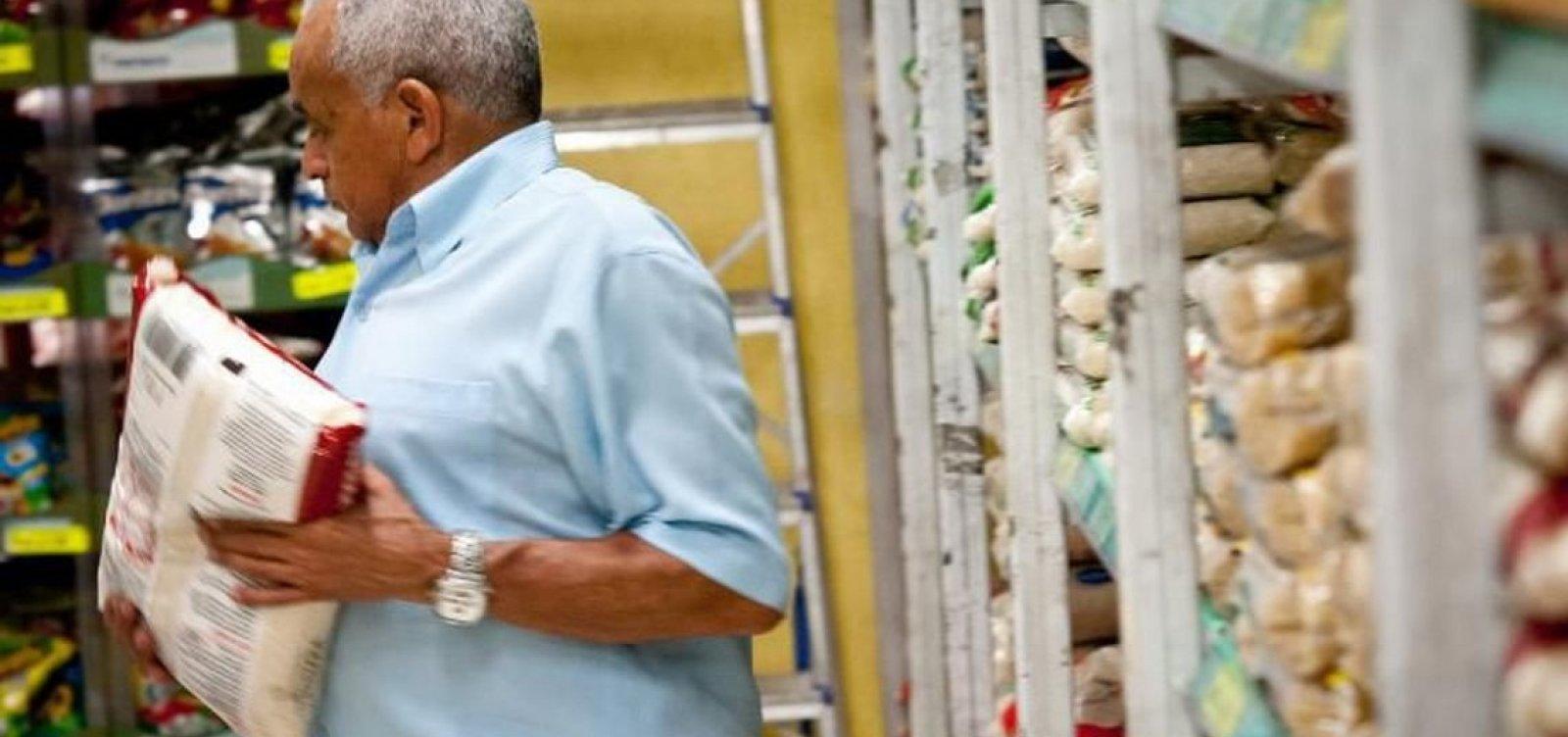 Preço da cesta básica cai em 10 capitais, indica Dieese; Salvador tem 2ª maior alta
