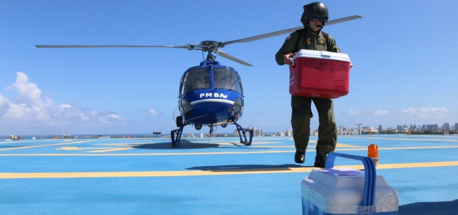 Graer realiza transporte urgente de órgãos de Alagoinhas para Salvador